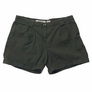 OLD NAVY SIZE 8 ARMY GREEN CARGO SHORTS